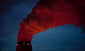 A coal fired power plant in the southern US.