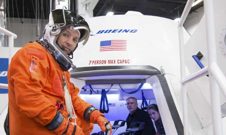 Nasa astronaut Boeing