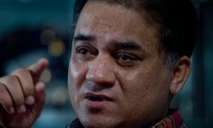 Ilham Tohti, a scholar of China's Turkic Uighur ethnic minority, pictured in 2013.