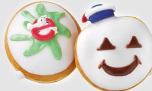 Who ya gonna maul …? The Ghostbusters doughnuts