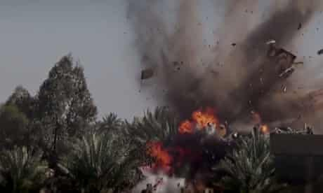 A still from the Islamic state video