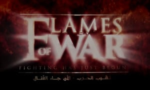 A still from the latest Islamic State video