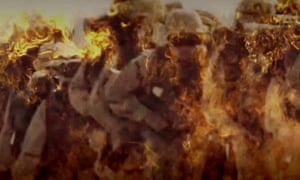 Flames of War Isis video