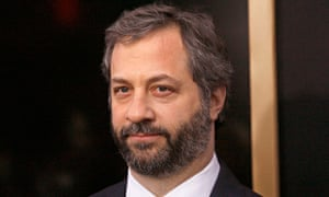 Judd Apatow attends the Anchorman 2 premiere