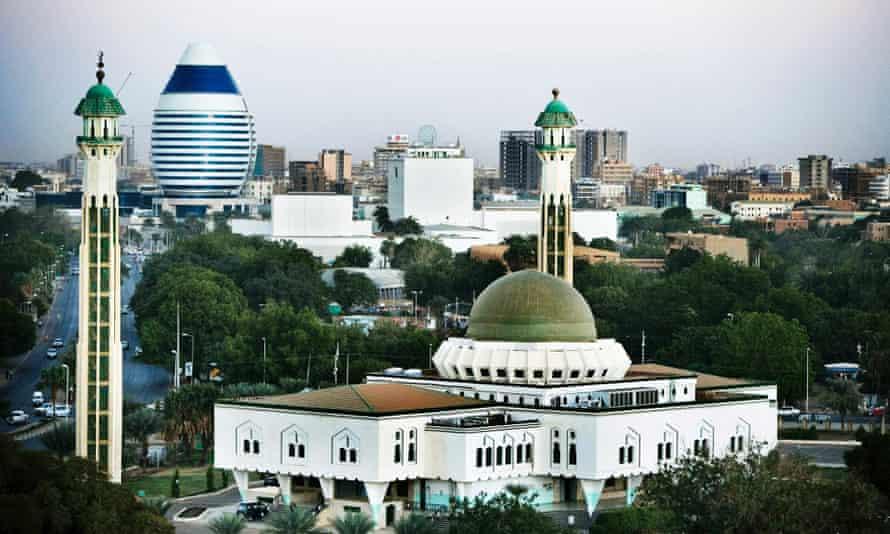 Khartoum city centre