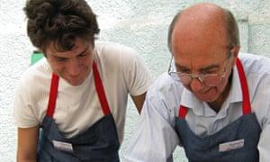 Men at work: Llandrindod Repair Cafe in Wales
