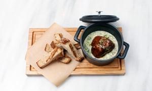 Opso restaurant: braised beef cheek