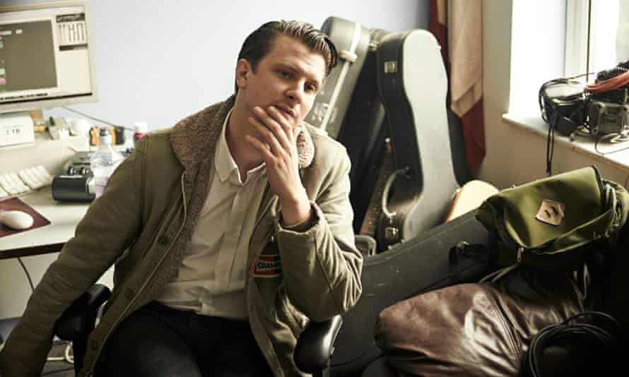 Jamie T photographed this month at the recording studio he rents in Hackney