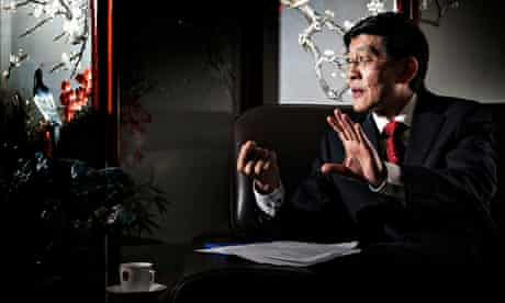 The Chinese ambassador to Iceland, Ma Jisheng