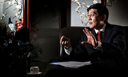 The Chinese ambassador to Iceland, Ma Jisheng