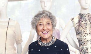 Joan Burstein at Browns in South Molton Street, London.