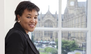 Baroness Patricia Scotland in One Millbank, Westminster, London.
