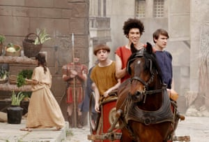 A day at the chariot races with the cast of Plebs