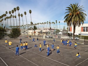 Nativity School. South Central Los Angeles, US, photographed 10November 2011
