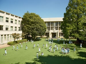 Seishin Joshi Gakuin (Sacred Heart) school, Tokyo, Japan, photographed 7 September 2011