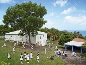 St Augustine school Montserrat, photographed 18 May 2012