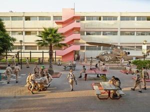 Holtz high school Tel Aviv, Israel, photographed 12September 2013