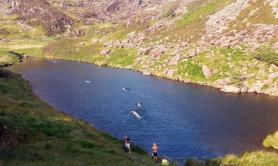 Wild swimming in Snowdonia