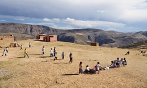 Paso Payita school Aramasi, Chuquisaca, Bolivia