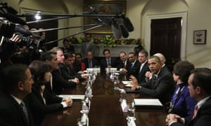 Barack Obama meets newly elected mayors from across the US. Do we need more talking shops?