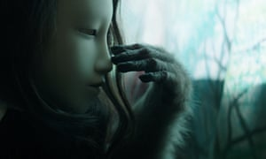 Fantasy world … a still from a video by Pierre Huyghe, from the show In. Border. Deep.