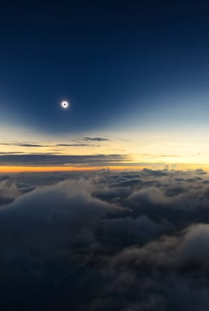 Totality from Above the Clouds Catalin Beldea (Romania), highly commended  One of nature's greatest spectacles, a total solar eclipse, captured from a plane 3,200 metres above Turkana in Kenya