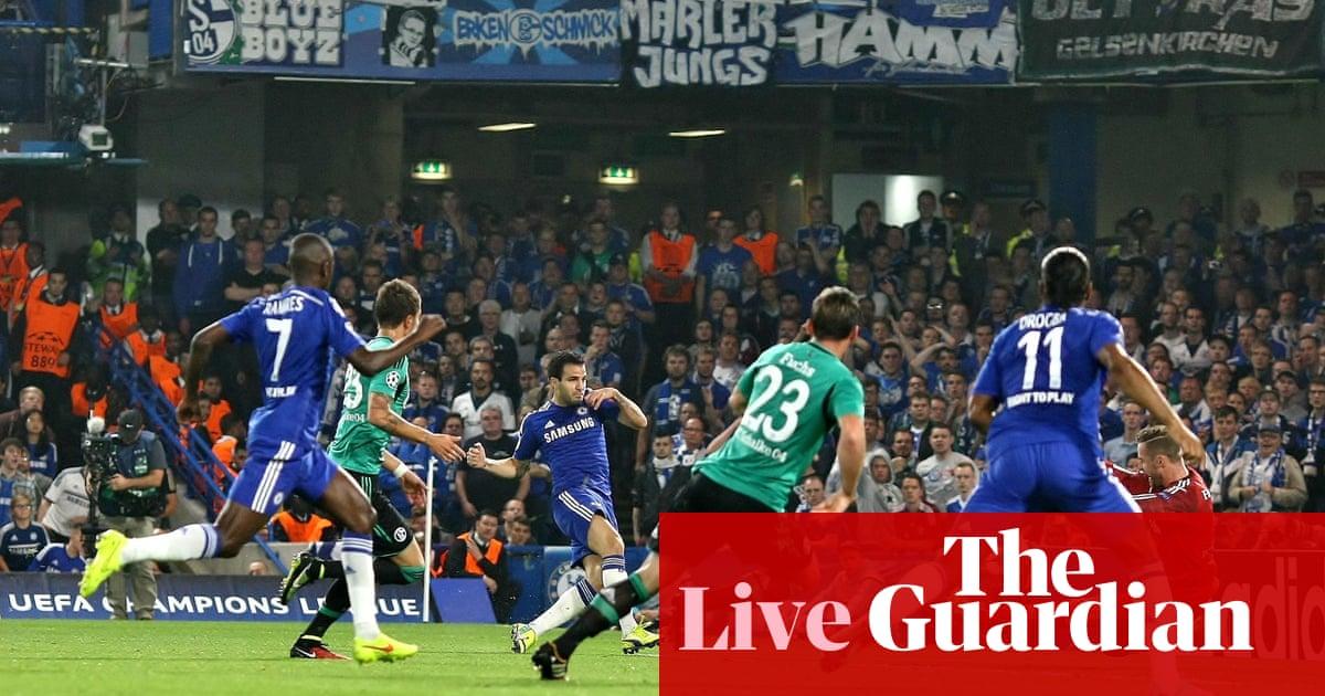 ac9126edac538a Chelsea v Schalke  Champions League – as it happened!