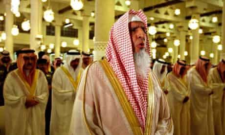 The Saudi grand mufti and head of the council, Sheikh Abdul-Aziz Al al-Sheikh.