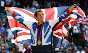Andy Murray at the 2012 Olympics in London. The Wimbledon champion has tweeted an apparent endorsement of Scottish independence, declaring: 'Let's do this!'