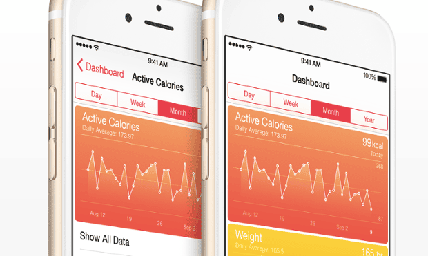 Apple's new Health app is part of iOS 8, but third-party HealthKit apps are missing for now.