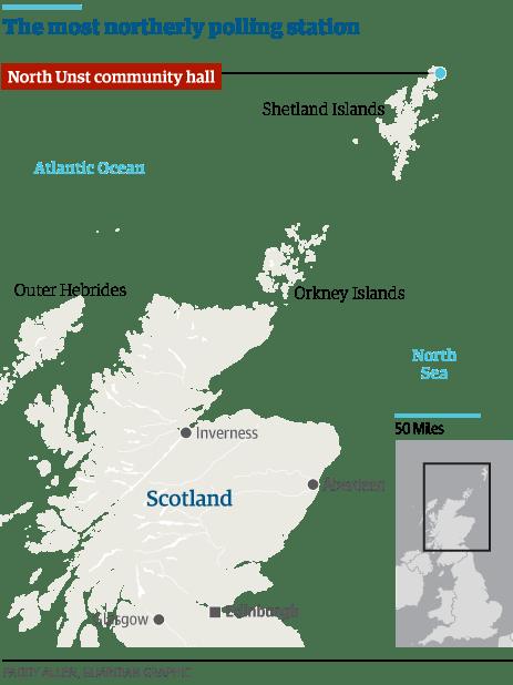 scotland unst polling