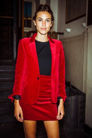 A14_Alexa Chung in Saint Laurent at a dinner hosted by Anya Hindmarch and mytheresa.com