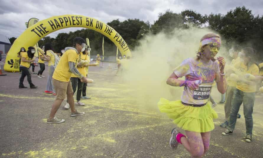 Your happiest race? The Colour Run