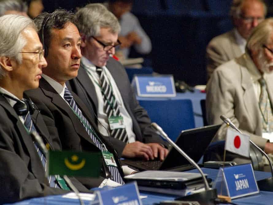 Japan delegates at IWC 65, Slovenia, September 2014