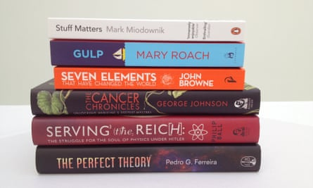 2014 Royal Society Winton Prize shortlist for science books