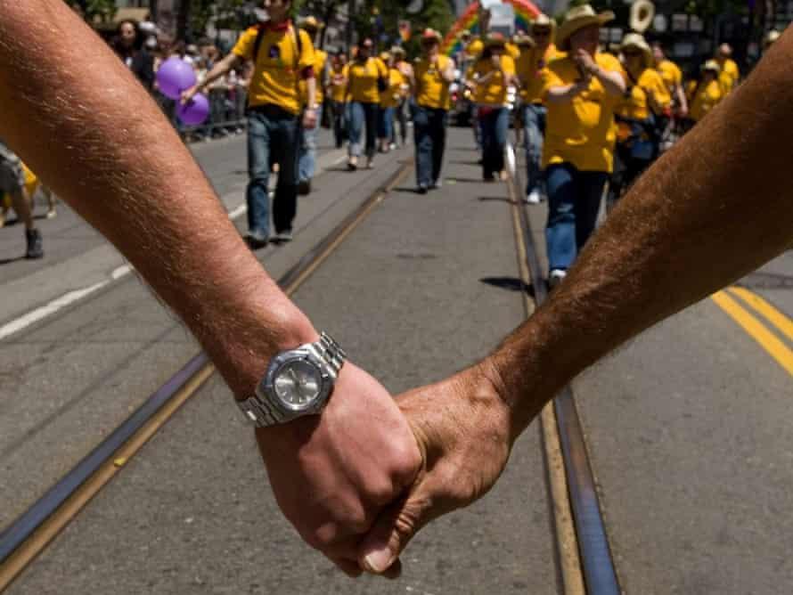 Gay pride parade San Francisco