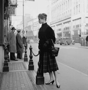 In 1955, Bardot came to England to film Doctor at Sea and here is photographed in London.