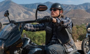 Easy rider … Charlie Hunnam in Sons of Anarchy.