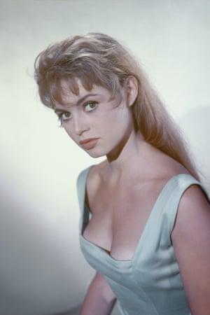 Brigitte Bardot on the set of La Lumière D'en Face (The Light Across the Street) in late 1955.