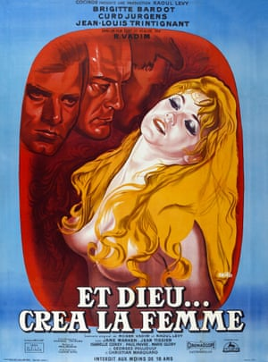 Her husband Roger Vadim directed her for the first time in 1956's Et Dieu...Crea La Femme (...And God Created Woman). It turned Bardot into an international star.
