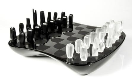 Zaha Hadid chess set