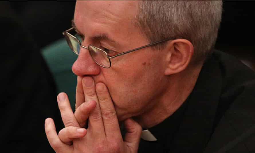 Justin Welby at the Church of England synod