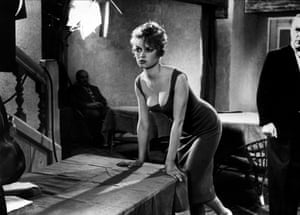 Bardot's films, this is a still from 1957's La Parisienne, continued to ooze sex appeal which led to the coining of the phrase 'Sex Kitten' about her the following year.