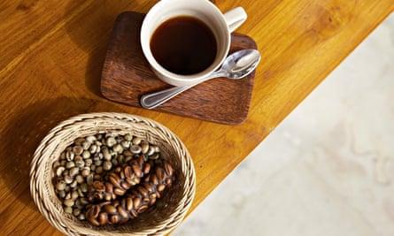Civet coffee