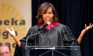 US MOney Michelle Obama college student debt