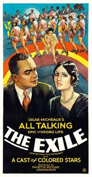 The Exile (1931) The film's plot concerned an apparently interracial love affair, a subject considered so controversial that some posters did not feature a printer's logo as if those responsible did not want to be associated with the film.