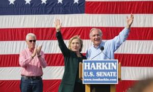 Clintons and Tom Harkin