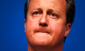 David Cameron delivers a speech in Aberdeen in the closing days of the Scottish referendum campaign