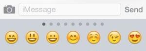 Emoji & # 39; s in iMessage