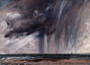 Rainstorm Over the Sea, 1824-28
